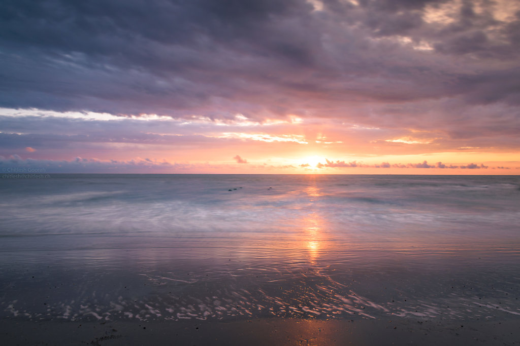 Sunset in Norderney